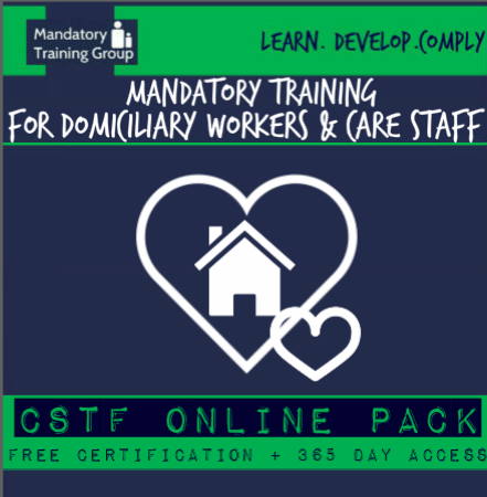 Mandatory Training Courses for Domiciliary Care Workers & Care Staff - CQC Compliant Courses - Skills for Care Aligned  - The Mandatory Training Group UK -