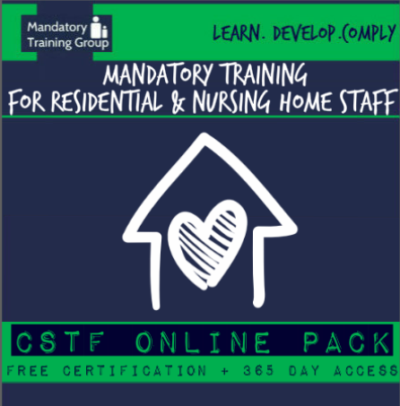 Mandatory Training Courses for Residential Care Home Staff - Skills for Care & CQC Compliant Care Courses - E-Learning UK - The Mandatory Training Group -