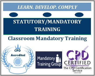 Mandatory Training UK Calendar & Venues - Classroom Mandatory Training Courses - Statutory & Mandatory Health & Safety Training Calendar —The Mandatory Training Group UK -