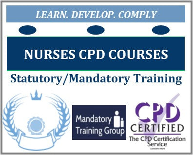 Nurses Online Mandatory Training Courses NMC - Nursing & Midwifery Council NMC Mandatory Training for Nurses - CPD Courses for Nurses - The Mandatory Training Group UK -