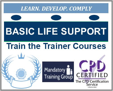 Online Basic Life Support Train the Trainer Courses - BLS Train the Trainer Courses Online - The Mandatory Training Group UK -