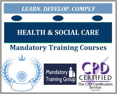 Online Mandatory Training Courses for Health & Social Care - Statutory and Mandatory Training Providers - CQC Requirements for Health & Social Care Mandatory Training -