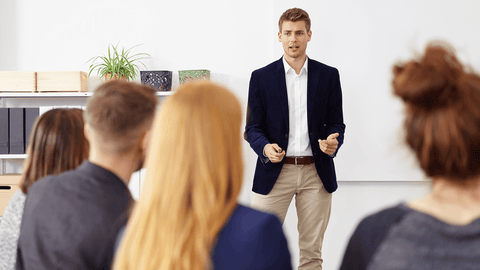 Presentation Skills - Online Training Course - Certificate in Presentation Skills and Techniques - E-Learning Course - The Mandatory Training Group -