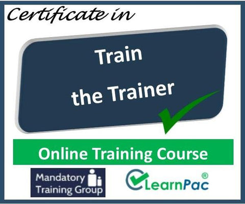 Train the Trainer Course Online - Online Train the Trainer Course - The Mandatory Training Group UK -