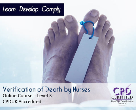 Verification of Death Course - Online Verification of Death Course - The Mandatory Training Group UK -