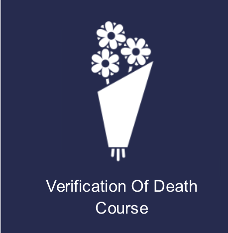 verification of death training online -