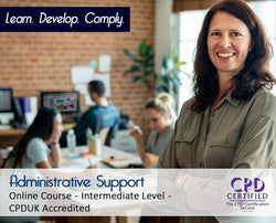 Administrative Support - Online Training Course - The Mandatory Training Group UK -