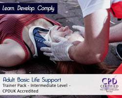 Adult Basic Life Support Trainer Pack - CPDUK Accredited - The Mandatory Training Group UK -
