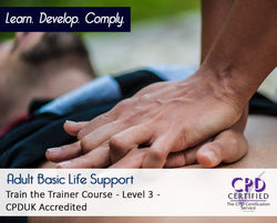 Adult Basic Life Support - CPDUK Accredited - The Mandatory Training Group UK -