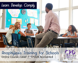 Anaphylaxis Training for Schools - Online Training Course - The Mandatory Training Group UK -