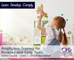 Anaphylaxis for Nurseries and Early Years - Online Training Course - The Mandatory Training Group UK -