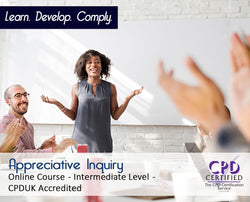 Appreciative Inquiry - Online Training Course - The Mandatory Training Group UK -