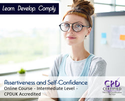 Assertiveness and Self-Confidence - Online Training Course - The Mandatory Training Group UK -