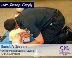Basic Life Support - CPDUK Accredited - The Mandatory Training Group UK -