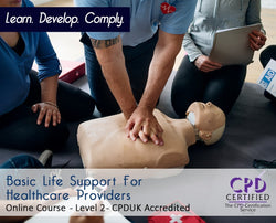 Basic Life Support For Healthcare Providers - Online Training Course - The Mandatory Training Group UK -