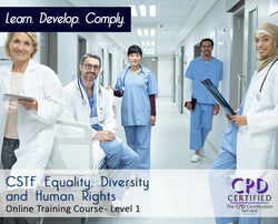 CSTF Equality, Diversity and Human Rights - Online Training Course - The Mandatory Training Group UK -