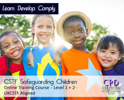 CSTF Safeguarding Children - Level 1+2 - Online Course - The Mandatory Training Group UK -
