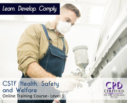 CSTF Health, Safety and Welfare - Online Training Course - The Mandatory Training Group UK -