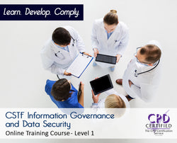 CSTF Information Governance & Data Security - Online Course