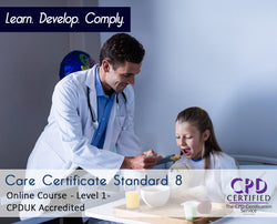 Care Certificate Standard 8 - Online Training Course - The Mandatory Training Group UK -