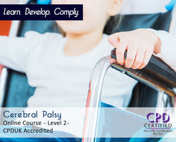 Cerebral Palsy - Online Training Course - The Mandatory Training Group UK -