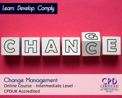 Change Management - Online Training Course - The Mandatory Training Group UK -