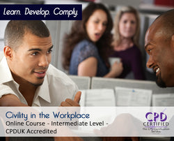 Civility in the Workplace - Online Training Course - The Mandatory Training Group UK -