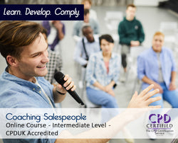 Coaching Salespeople - Online Training Course - The Mandatory Training Group UK -