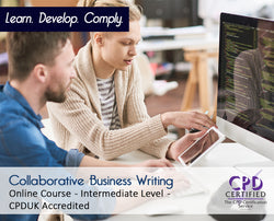 Collaborative Business Writing - Online Training Course - The Mandatory Training Group UK -