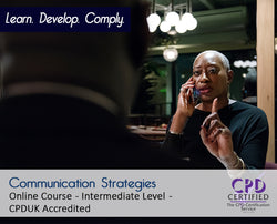 Communication Strategies - Online Training Course - The Mandatory Training Group UK -
