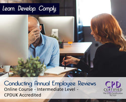 Conducting Annual Employee Reviews - Online Training Course - The Mandatory Training Group UK -