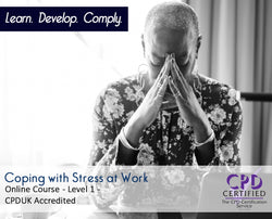 Coping with Stress at Work - Online Training Course - The Mandatory Training Group UK –