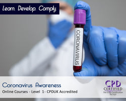 Coronavirus Awareness - CPDUK Accredited - The Mandatory Training Group UK -
