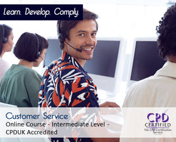 Customer Service - Online Training Course - The Mandatory Training Group UK -