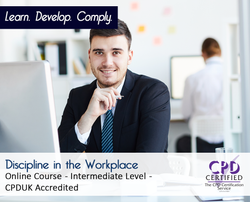 Discipline in the Workplace  - Online Training Course - The Mandatory Training Group UK -