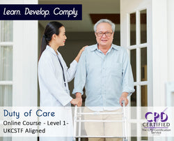 Duty of Care - Online Training Course - The Mandatory Training Group UK -