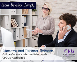 Executive and Personal Assistants - Online Training Course - The Mandatory Training Group UK -