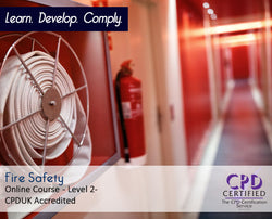 Fire Safety - Online Training Course - The Mandatory Training Group UK -