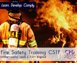 Fire Safety in Health and Care Online Training Course - CPDUK Accredited - The Mandatory Training Group
