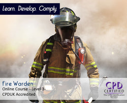 Fire Warden Training - Online Course - The Mandatory Training Group UK -
