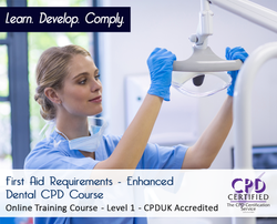 First Aid Requirements - CPDUK Accredited - The Mandatory Training Group UK -
