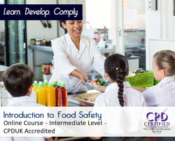 Introduction to Food Safety  - Online Training Course - The Mandatory Training Group UK -