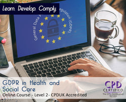 GDPR for Health and Social Care - Online Training Course - The Mandatory Training Group UK -