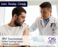 HPV Vaccinations - Online Training Course - The Mandatory Training Group UK -