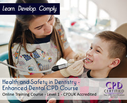 Health and Safety in Dentistry - E-Learning Course - The Mandatory Training Group UK -
