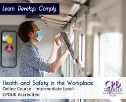Health and Safety in the Workplace  - Online Training Course - The Mandatory Training Group UK -