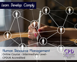 Human Resource Management - Online Training Course - The Mandatory Training Group UK -