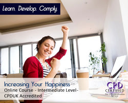 Increasing Your Happiness - Online Training Course - The Mandatory Training Group UK -
