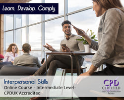 Interpersonal Skills - Online Training Course - The Mandatory Training Group UK -
