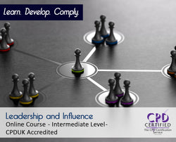 Leadership and Influence - Online Training Course - The Mandatory Training Group UK -